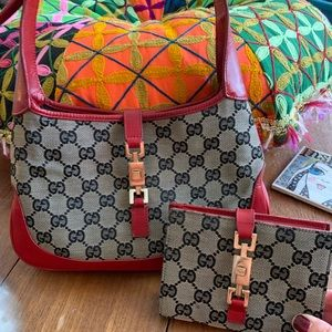 *RARE* Gucci Purse and Wallet Set!